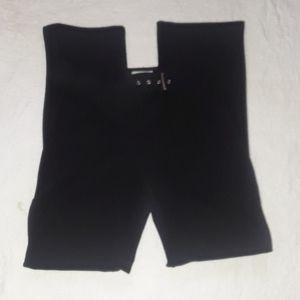 Lady's black pants.